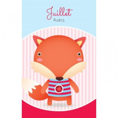 Carte - Juillet / July - Card